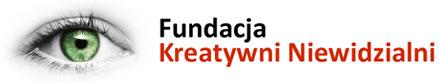 Logotyp Fundacji Kreatywni Niewidzialni
