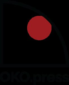 Logotyp Magazynu Oko.press