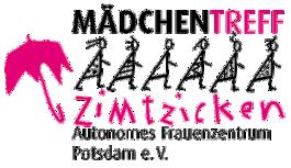 Logotyp Zimtzicken, poczdamskiej organizacji działającej na rzecz dziewczynek