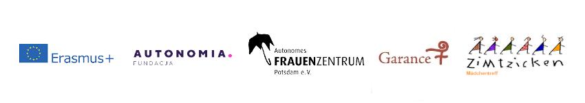 Belka z logotypami organizacji zaangażowanych w realizację projektu