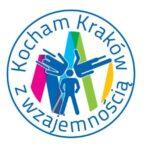 Logotyp inicjatywy Kocham Kraków z Wzajemnością